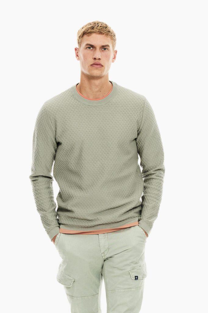 Garcia Kruna mode muški pulover